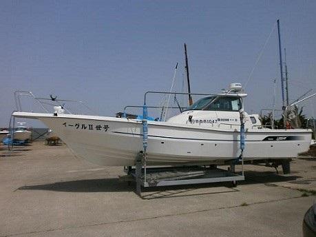 青森の釣り船、イーグルII世号